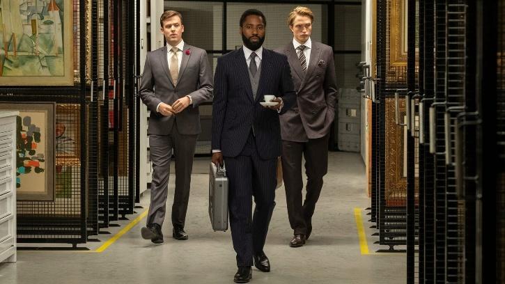 Robert Pattinson and John David Washington in Tenet / Agencies