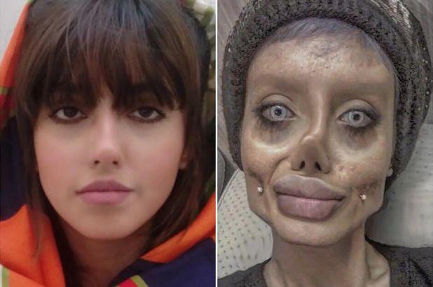 Zombie' Angelina Jolie reveals what she actually looks like