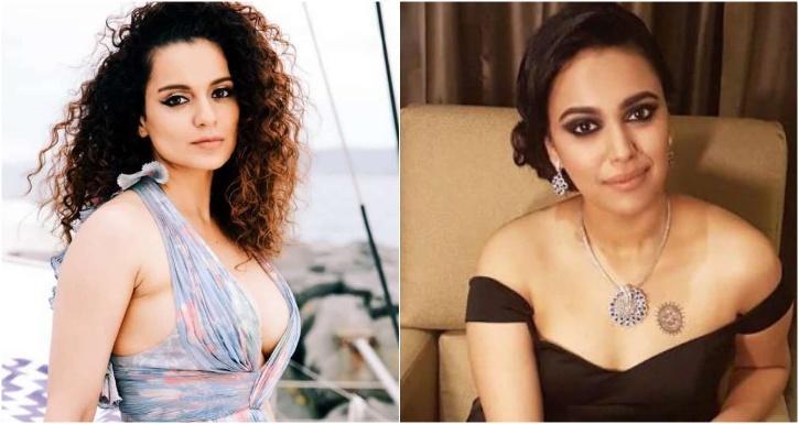 Kangana Ranaut and Swara Bhasker / Indiatimes