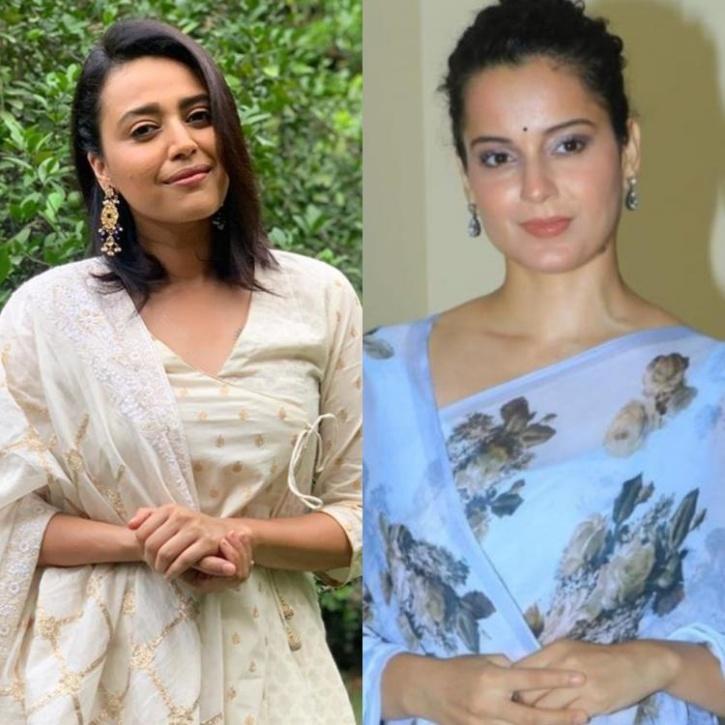 Swara Bhasker and Kangana Ranaut / Indiatimes
