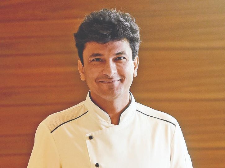 A still of chef Vikas Khanna,
