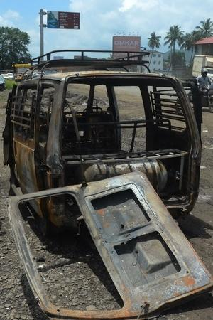School Van Catches Fire In Punjab; Four Minor Dead