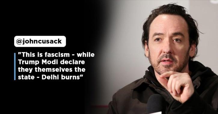 Hollywood Actor John Cusack Condemns Violence In Delhi, Raises Concern Over India