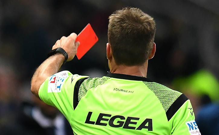Italian Referee Just Got Banned For One Year For Head-Butting