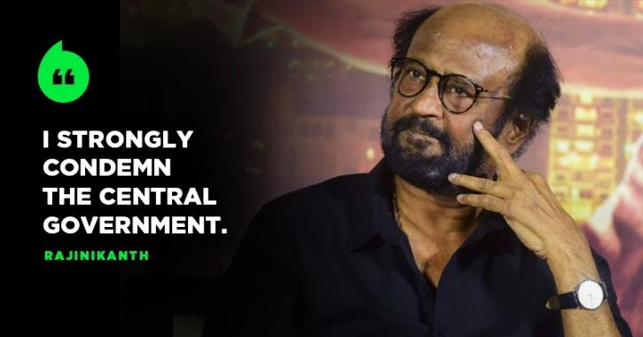 Rajinikanth Blames Home Ministry For Delhi Riots,  Says Those In Power Should