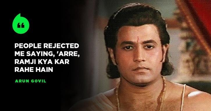 Arun Govil AKA Lord Ram From Ramanand Sagar