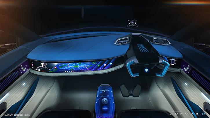 Maruti Suzuki Futuro-e Concept Interiors