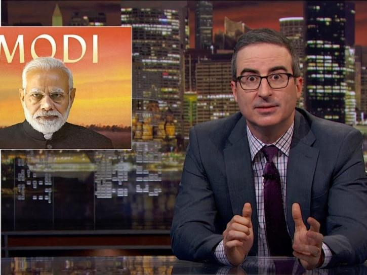 Post John Oliver Criticised PM Modi On His Show, Hotstar Blocks Release Of The Episode In India