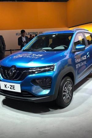 Electric Kwid Electric K-ZE Auto Expo