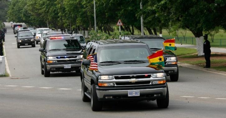 US Presidential Convoy