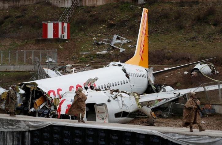 Turkey Plane Accident