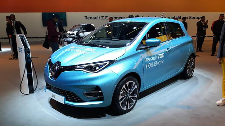 Renault Zoe EV Auto Expo