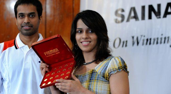 Saina nehwal and gopichand