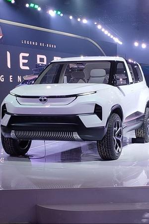 Tata Sierra Auto Expo 2020
