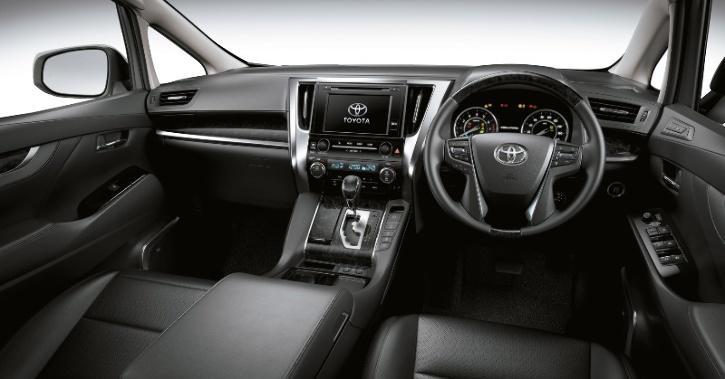 Toyota Vellfire Interiors