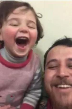 syria father video