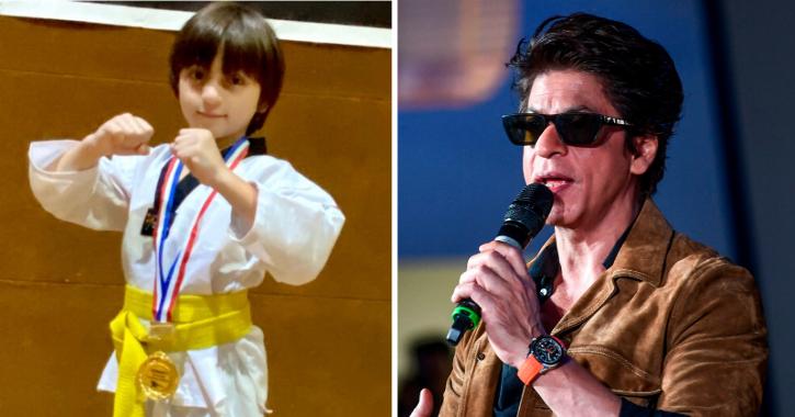 As AbRam Wins Gold Medal In Taekwondo, Shah Rukh Khan Jokes His Kids Have More Awards Than Him