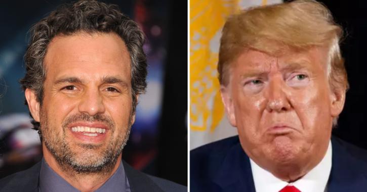 Mark Ruffalo Calls Donald Trump