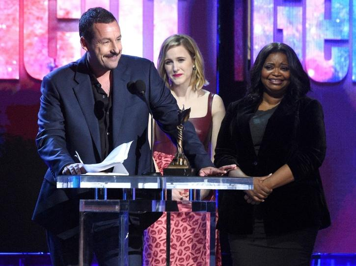 Adam Sandler Jokes About His Oscar Snub, Gets Standing Ovation Post His Epic Acceptance Speech!