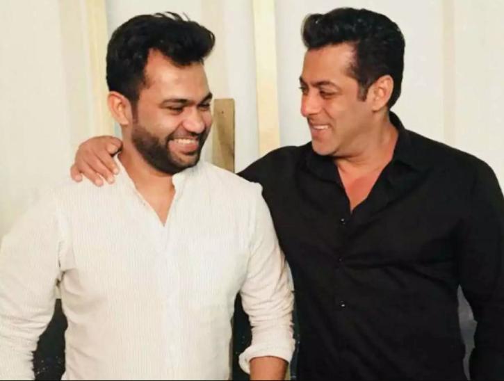 Ali Abbas Zafar with Salman Khan