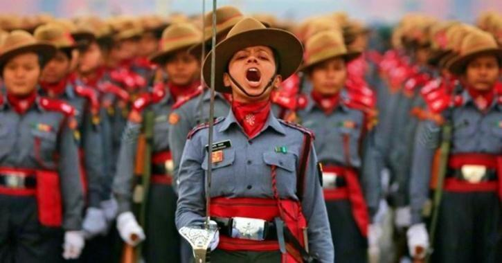 female army officers India