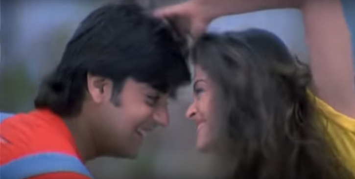 Chandrachur Singh and Aishwarya Rai in Josh.
