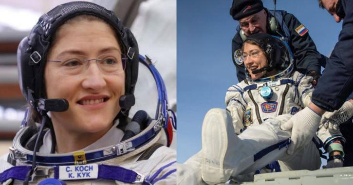 christina koch astronaut
