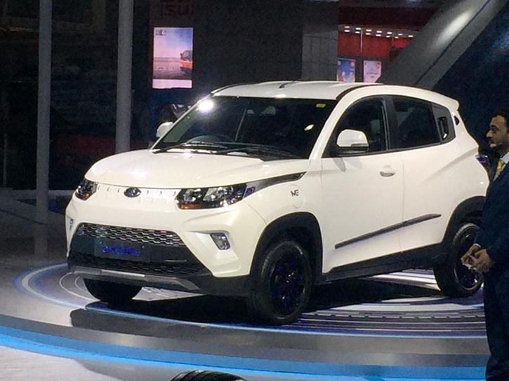 Mahindra eKUV100 Auto Expo