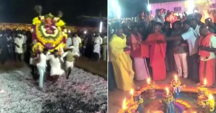 Special Puja Performed At Karnataka