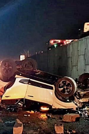 Tata Nexon Accident