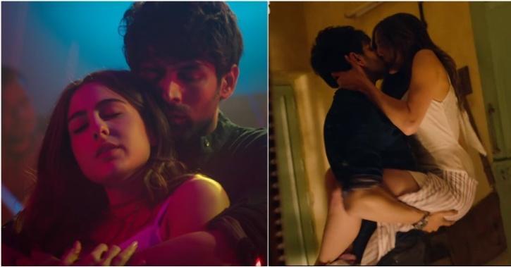 Sanskari Censor Board Cuts Short Kissing Scene & Blurs Cleavage From Sara-Kartik's 'Love Aaj Kal'!