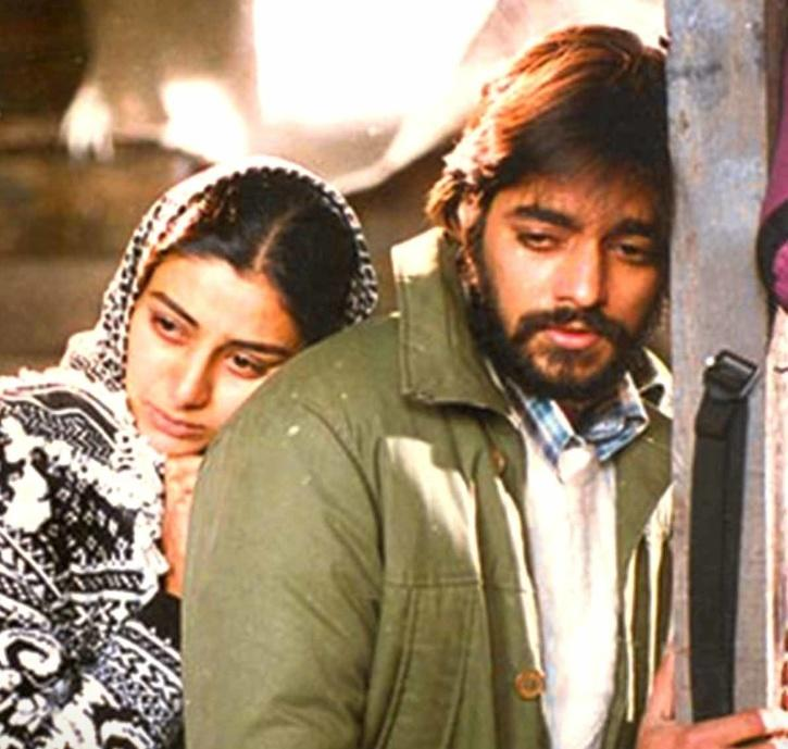 Tabu, a superstar, underrated actress of Bollywood in Maachis.