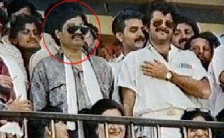 Anil Kapoor with dawood