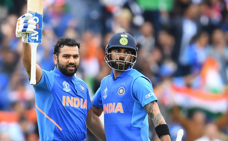 Rohit Sharma and Virat Kohli