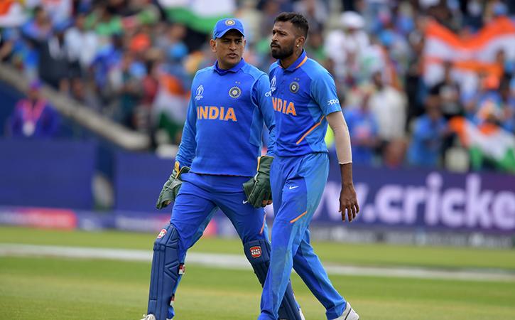 Dhoni and Pandya