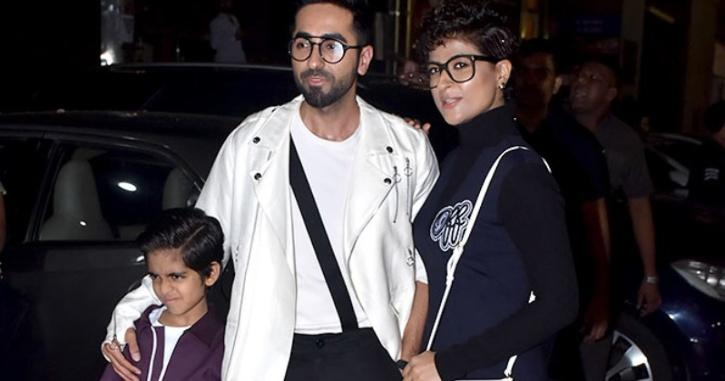 Tahira and Ayushmann