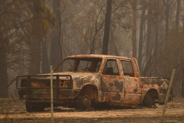 devastating effects of Australian bushfires