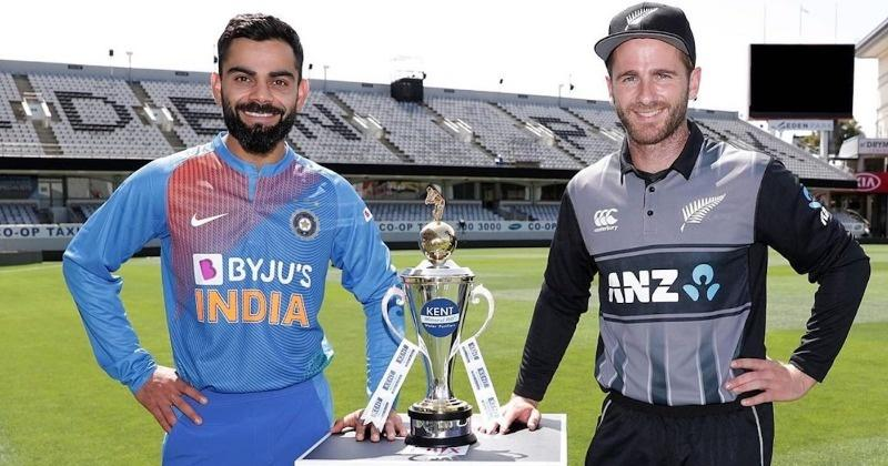 Virat Kohli's Men In Blue Start New Zealand Tour In Style ...