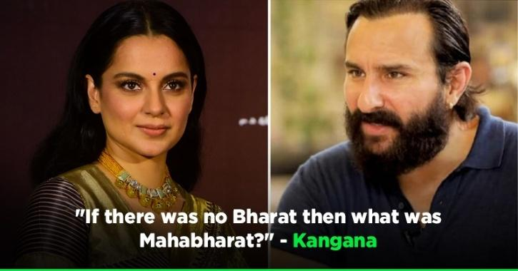 After Trolls, Kangana Ranaut Also Lashes Out At Saif Ali Khan On His