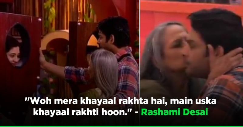 Rashami Desai Meets Sidharth Shukla
