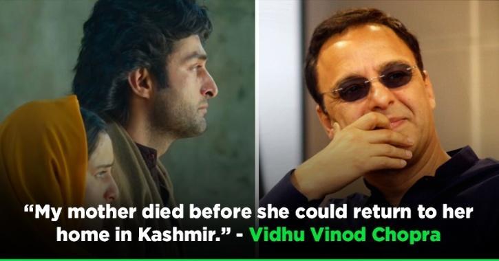 Vidhu Vinod Chopra Says He Made