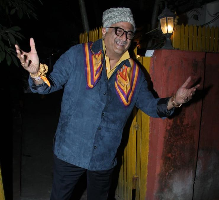 Javed Akhtar birthday party