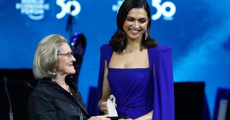 Deepika Padukone at Davos