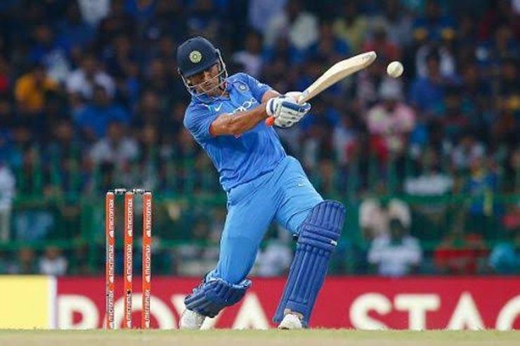 ms dhoni odi batting