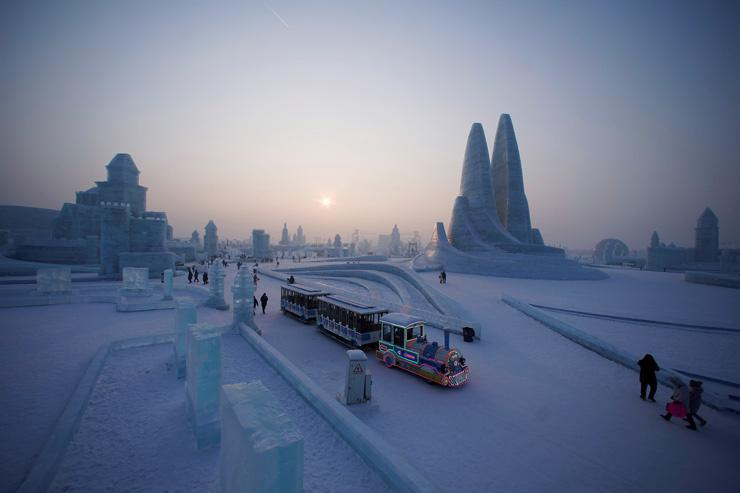 harbin Snow ice festival photos