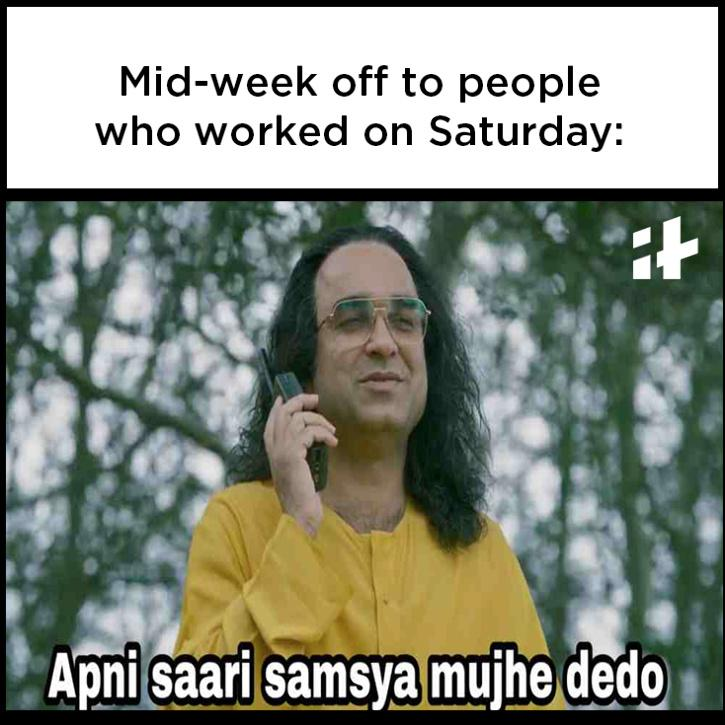 working weekend memes