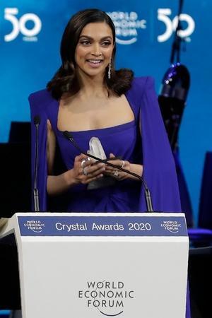 Deepika Padukone at Davos, WEF