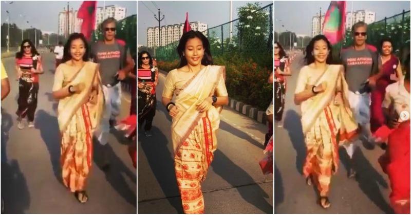 Milind Soman and Wife Ankita