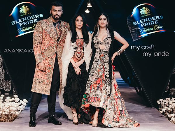 Anamika Khanna, Arjun Kapoor, Janhvi Kapoor, Blenders Pride, Blenders Pride Fashion Tour, Fashion Show, Runway