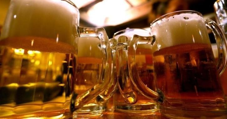 binge drinking of beer study
